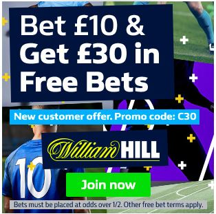 william hill review of welcome bonus